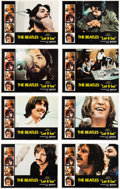 Music Memorabilia:Posters, Beatles Let It Be Lobby Card Set (United Artists, 1970)...