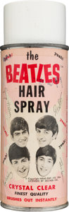 Music Memorabilia:Memorabilia, Beatles Vintage Hair Spray by Bronson Products (NEMS Seltaeb,1964). ...