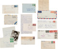 Music Memorabilia:Documents, Elvis Presley Fan Letters (c. 1958)....