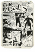 """Original Comic Art:Panel Pages, Gene Colan and Bob Smith - Detective Comics #538, page 8 Original Art (DC, 1984). Catman does a little """"pussy-footing"""" in th..."""