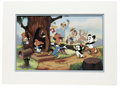 "Animation Art:Limited Edition Cel, ""Woody Greets His Friends"" Limited Edition Hand Painted Cel#228/500 Original Art with Walter Lantz Signed Payroll Check(Walt... (Total: 2 Items)"