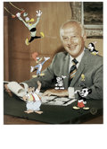 "Animation Art:Limited Edition Cel, ""Meet My Boss, Walter Lantz"" Limited Edition Hand-Painted Cel#70/200 Original Art (Walter Lantz Productions, 1991). This li..."
