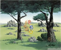 "Animation Art:Limited Edition Cel, ""In the Rough"" Limited Edition Hand-Painted Cel #74/100 OriginalArt with Walter Lantz Signed Payroll Check (Walter Lantz Prod...(Total: 3 Items)"