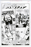 Original Comic Art:Splash Pages, Steve Rude and Gary Martin - The Moth #1, Splash page 1 OriginalArt (Dark Horse, 2004). Ten-time comic industry award winne...