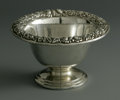 Silver Holloware, American:Bowls, An American Silver Bowl. Mark of S. Kirk & Son, Baltimore, MD,Late Nineteenth Century. The footed bowl with a floral repo...