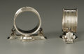 Silver & Vertu:Hollowware, A Pair of American Silver Napkin Rings. Gorham, Providence, RI, Mid-Late Nineteenth Century. A pair of sterling silver... (Total: 1 Item Item)