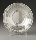 Silver Holloware, American:Bowls, An American Silver Bowl. Wallace & Sons Mfg., Wallingford, CT,Late Nineteenth Century. The 'Rose Point' bowl with flo...