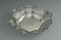 Silver Holloware, American:Baskets, An American Silver Basket. Mark of Redlich & Co., New York, NY, Late Nineteenth Century. The octagonal reticulated basket,...
