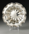 Silver Holloware, American:Bowls, An American Silver Bowl. Maker unknown, Early Twentieth Century.The fluted bowl with applied scroll decoration to the...