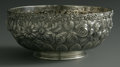 Silver Holloware, American:Bowls, An American Silver Bowl. Schofield Co., Baltimore, MD, EarlyTwentieth Century. The hand chased repousse bowl, marked unde...