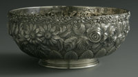 An American Silver Bowl Schofield Co., Baltimore, MD, Early Twentieth Century  The hand chased repousse bowl, marked und...