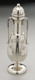 Silver Holloware, American:Other , An American Silver Pepper Shaker. Maker unknown, Early TwentiethCentury. Marked underside B & L/416/ENGLISH STERLIN...