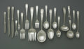 Silver Flatware, American:Kirk, An American Silver Flatware Set. Mark of S. Kirk & Son, Baltimore, MD, 1936. The 'Old Maryland' pattern includes eighteen ... (Total: 172 Items)