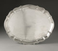 Silver Holloware, Continental:Holloware, An German Silver Tray. H.J. Wilm, Berlin, Germany, Early TwentiethCentury. The oval tray with fluted and scalloped si...