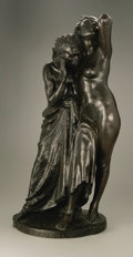 Fine Art - Sculpture, American:Modern (1900 - 1949), Herman Atkins MacNeil (American, 1866-1947). The Slave Block, 1937.Bronze. 29.5in. x 14in. x 12in.. Signed and dated on bas...