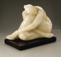 Francisco Zuñiga (Mexican, 1912-1998) Silvia Nude, 1968 Onyx 13.25in. x 17.5in. x 10.5in. Signed and dated lower...