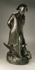 "Sculpture, Marius-Jean-Antonin Mercie (French, 1845-1916). Waterloo, circa 1907. Bronze. 34"" h x 17 ½"" w x 13"" d. Signed and numbered o... (Total: 1 Item Item)"