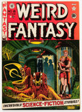 Golden Age (1938-1955):Science Fiction, Weird Fantasy #8 (EC, 1951) Condition: VF-....