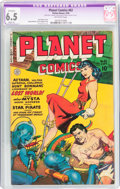 Golden Age (1938-1955):Science Fiction, Planet Comics #62 (Fiction House, 1949) CGC Apparent FN+ 6.5 Slight(A) Off-white pages....