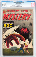 Silver Age (1956-1969):Horror, Journey Into Mystery #71 (Marvel, 1961) CGC FN+ 6.5 Cream tooff-white pages....