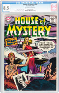 Silver Age (1956-1969):Horror, House of Mystery #69 (DC, 1957) CGC VF+ 8.5 Off-white to whitepages....