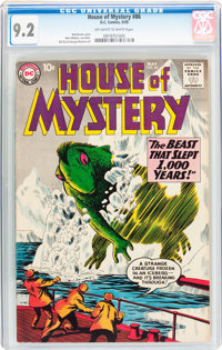 House of Mystery #86 (DC, 1959) CGC NM- 9.2 Off-white to white pages