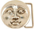 "Music Memorabilia:Memorabilia, Grateful Dead ""Moon Face"" Belt Buckle by Owsley ""Bear"" Stanley (1995)...."