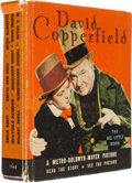 "Movie/TV Memorabilia:Documents, A Book Related to the Film ""David Copperfield.""..."