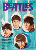 Music Memorabilia:Memorabilia, Beatles Punch-out Portrait book (1964)....