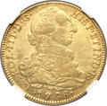 Colombia, Colombia: Charles III gold 8 Escudos 1788 NR-JJ AU50 NGC,...