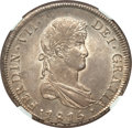 Chile, Chile: Ferdinand VII 8 Reales 1815 So-FJ MS64 NGC,...
