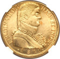 Chile, Chile: Ferdinand VII gold 8 Escudos 1810 So-FJ UNC Details (SurfaceHairlines) NGC,...