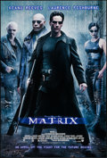 "Movie Posters:Science Fiction, The Matrix (Warner Brothers, 1999). One Sheet (27"" X 40"") DS. Science Fiction.. ..."