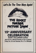 "Movie Posters:Rock and Roll, The Rocky Horror Picture Show (R-1990). 15th Anniversary Event OneSheet (27.25"" X 41""). Rock and Roll.. ..."