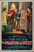 """Movie Posters:Serial, The Phantom of the West (Mascot, 1931). One Sheet (27"""" X 41"""") Chapter 7 -- """"The Price of Silence."""" Serial.. ..."""