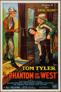 """Movie Posters:Serial, The Phantom of the West (Mascot, 1931). One Sheet (27"""" X 41"""") Chapter 9 """"The Fatal Secret."""" Serial.. ..."""