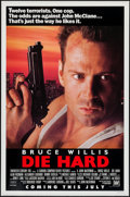 "Movie Posters:Action, Die Hard (20th Century Fox, 1988). One Sheet (27"" X 41"") Advance. Action.. ..."