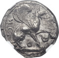 Ancients:Greek, Ancients: IONIA. Teos. AR stater (23mm, 11.71 gm)....