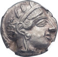 Ancients:Greek, Ancients: ATTICA. Athens. Ca. 454-404 BC. AR tetradrachm (22mm,16.96 gm, 8h)....