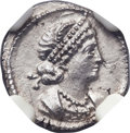 Ancients:Roman Imperial, Ancients: Anonymous. Time of Constantine I the Great (AD 307-337).AR third siliqua or scripulum (11mm, 0.81 gm, 7h)....
