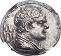 Ancients:Greek, Ancients: GRECO-BACTRIAN KINGDOM. Heliocles (ca. 145-130 BC). AR tetradrachm (32mm, 14.63 gm, 12h)....
