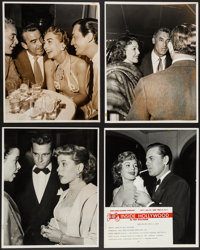 "Inside Hollywood by Nat Dallinger (King Features Syndicate, 1940s-1950s) Candid Photos (11) (11"" X 14""). Misce..."