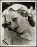 """Movie Posters:Miscellaneous, Joan Crawford by George Hurrell (MGM, 1930s). Portrait Photo (10"""" X 13""""). Miscellaneous.. ..."""