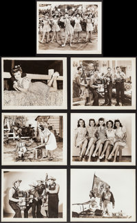 "Hoosier Holiday (Republic, 1943). Photos (21) (8"" X 10""). Musical. ... (Total: 21 Items)"