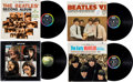 Music Memorabilia:Recordings, Beatles Group of Four LPs (Capitol and Apple, 1964-70).... (Total:4 Items)