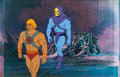 Animation Art:Production Cel, He-Man and the Masters of the Universe He-Man and SkeletorProduction Cel Set-Up Animation Art (Filmation, 1983).... (Total: 2Original Art)