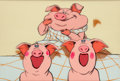 "Animation Art:Production Cel, National Lampoon's European Vacation ""Pig in a Poke"" OpeningProduction Cel Animation Art (Warner Brothers/Duck Soup, ..."