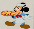 Animation Art:Production Cel, Mickey Mouse Television Commercial Production Cel Animation Art(Walt Disney, c. 1980s-90s)....