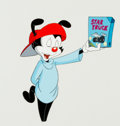 Animation Art:Production Cel, Animaniacs Yakko Production Cel Animation Art (WarnerBrothers, 1995)....