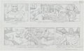 "Original Comic Art:Miscellaneous, Jack Kirby Fantastic Four ""The Menace of Magneto"" Storyboard #26Original Animation Art (DePatie-Freleng, 1978)..."